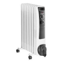 Calorifer electric cu ulei Heinner HOH-Y09WB, 2000 W, 9 elementi, protectie supraincalzire, termostat reglabil