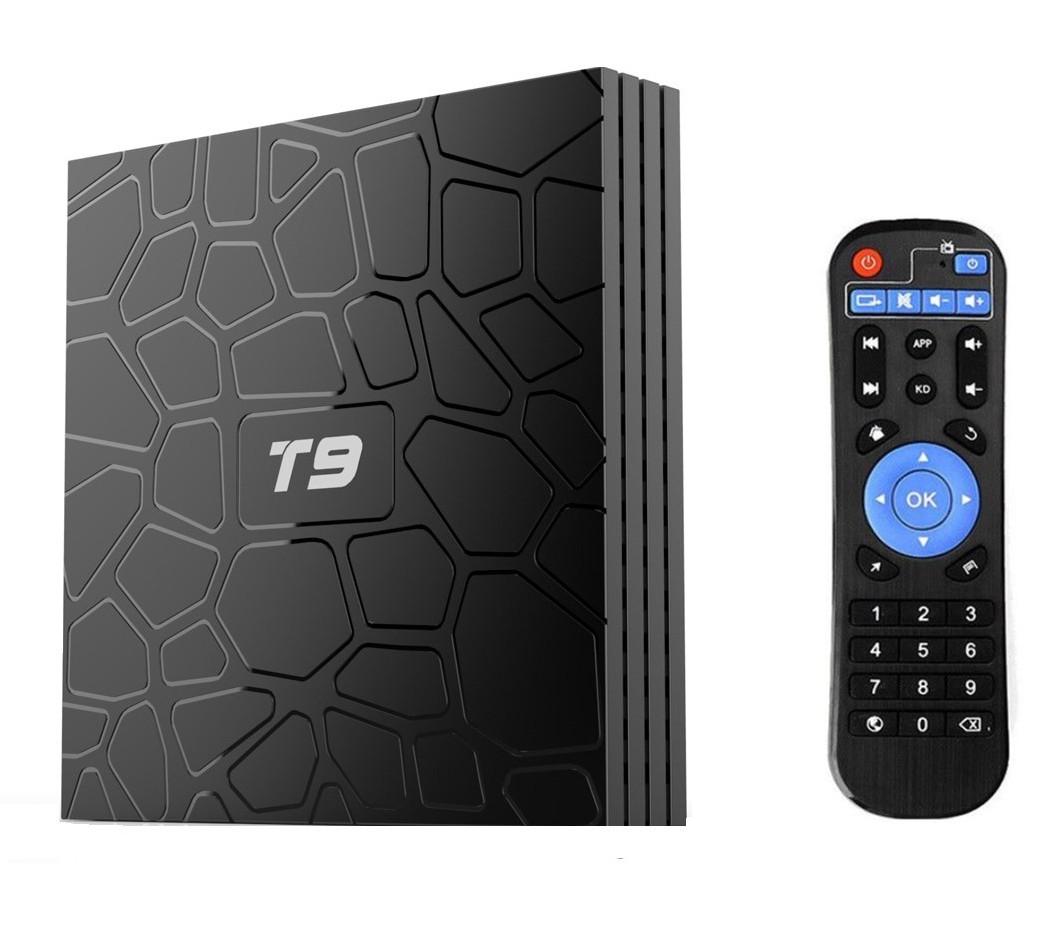Mini PC TV Box T9 Android 8.1 UltraHD 4k, 2GB Ram DDR3, 16GB ROM, Wi-fi, Quad-Core CPU, Octa-Core GPU imagine techstar.ro 2021