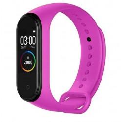 Bratara Sport M4 Techstar® Pentru Fitness, Monitorizarea Presiunii Sangelui si A Batailor Inimii, Roz