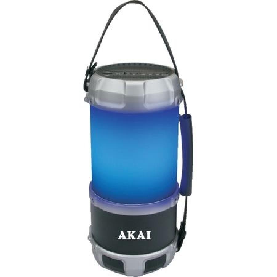 Boxa portabila felinar AKAI ABTS-S38, cu Bluetooth, USB, FM radio, 16W