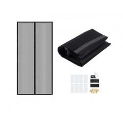 Perdea magnetica anti-insecte, model negru