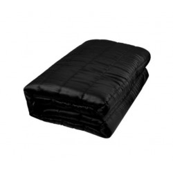 Saltea cu functie de masaj si incalzire, telecomanda inclusa, negru
