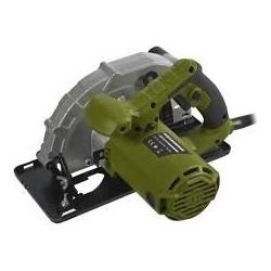 Fierastrau circular Heinner, 1400 W, 230 V, 5000 RPM, 185 mm diametru disc + sina ghidaj + set perii carbune +