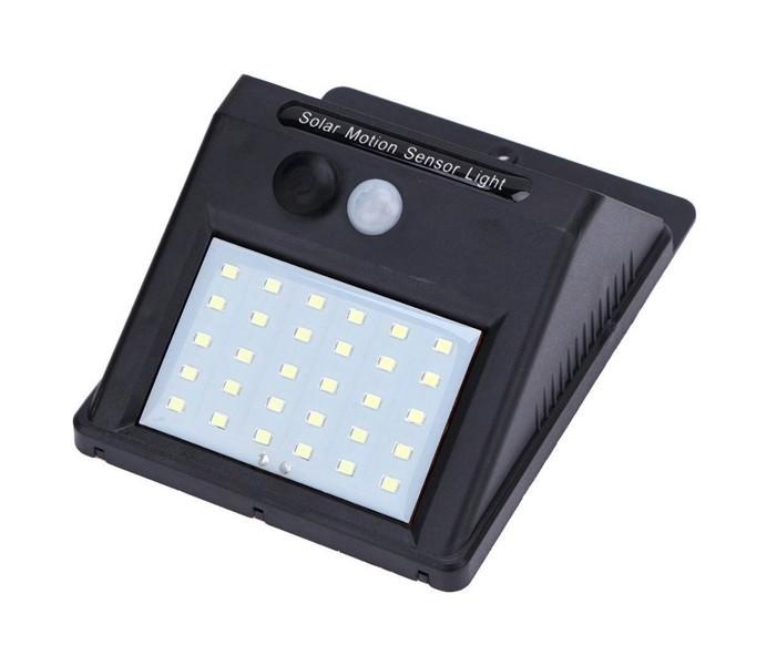 Lampa solara cu senzor de miscare si lumina cu 30 leduri imagine techstar.ro 2021