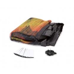 Perdea magnetica anti insecte - imprimeu FLUTURI