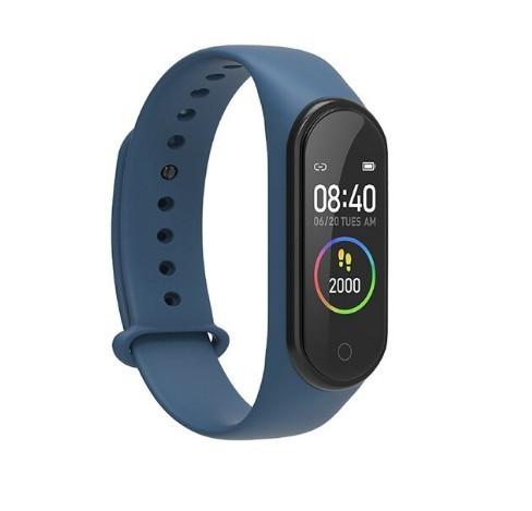 Bratara Smart M4 Plus, Fitness Tracker, Ritm Cardiac, Tensiune Arteriala, Monitorizarea Sanatatii imagine techstar.ro 2021