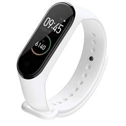 Bratara Sport M4 Techstar® Pentru Fitness, Monitorizarea Presiunii Sangelui si A Batailor Inimii, Alb