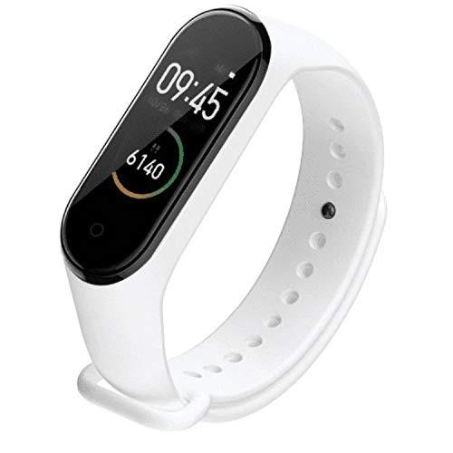 Bratara Sport M4 Techstar® Pentru Fitness, Monitorizarea Presiunii Sangelui si A Batailor Inimii, Alb poza 2021