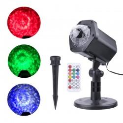 Proiector LED , all season, cu telecomanda, oceanic effect , interior - exterior, XL800