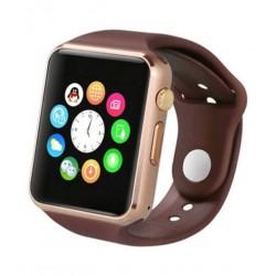 Ceas Smartwatch Techstar® A1, Camera Foto, Ecran 1.54inch, Bluetooth, Compatibil SIM si MicroSD, Apelare, Maro