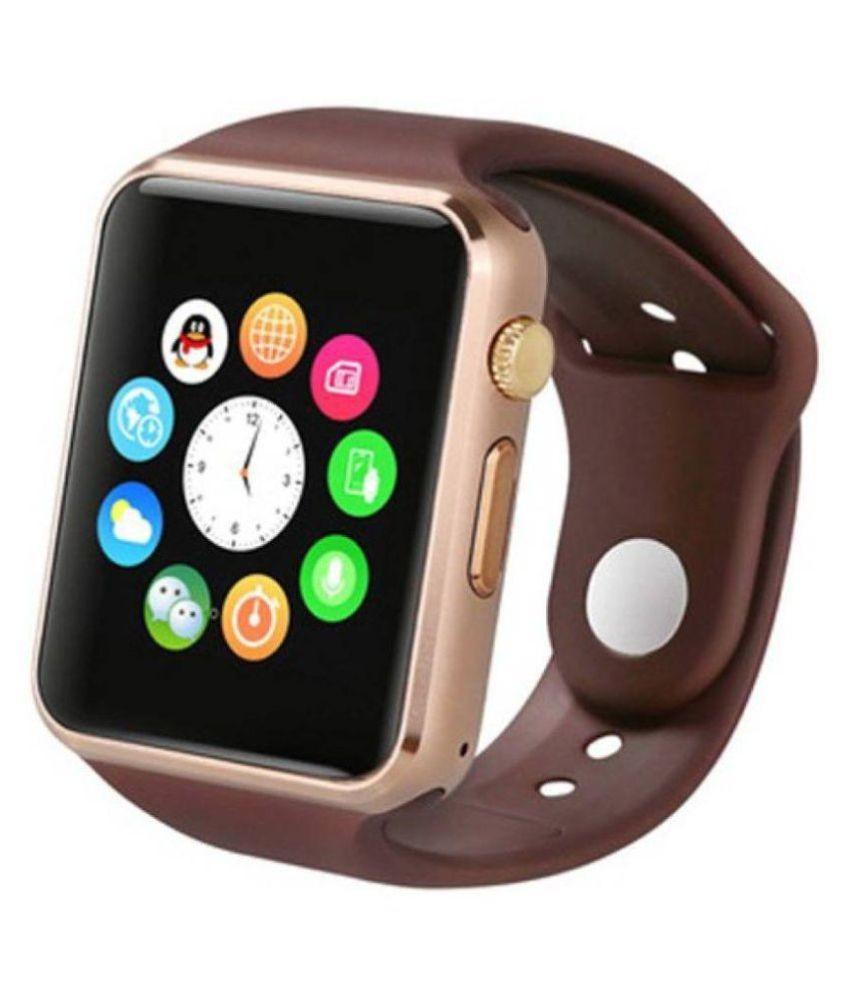 Ceas Smartwatch Techstar® A1, Bluetooth, Compatibil SIM si MicroSD, Maro poza 2021