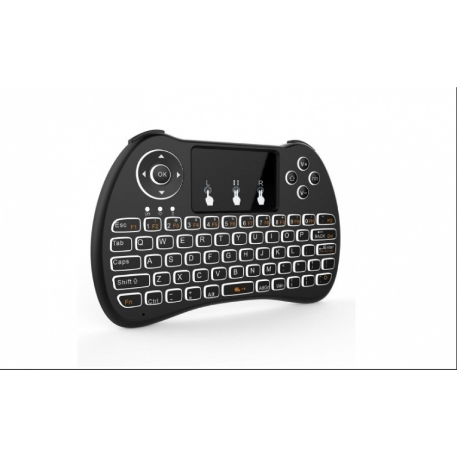 Mini Tastatura Wireless Portabila, Mouse Touch Pad Integrat Si Acumulator