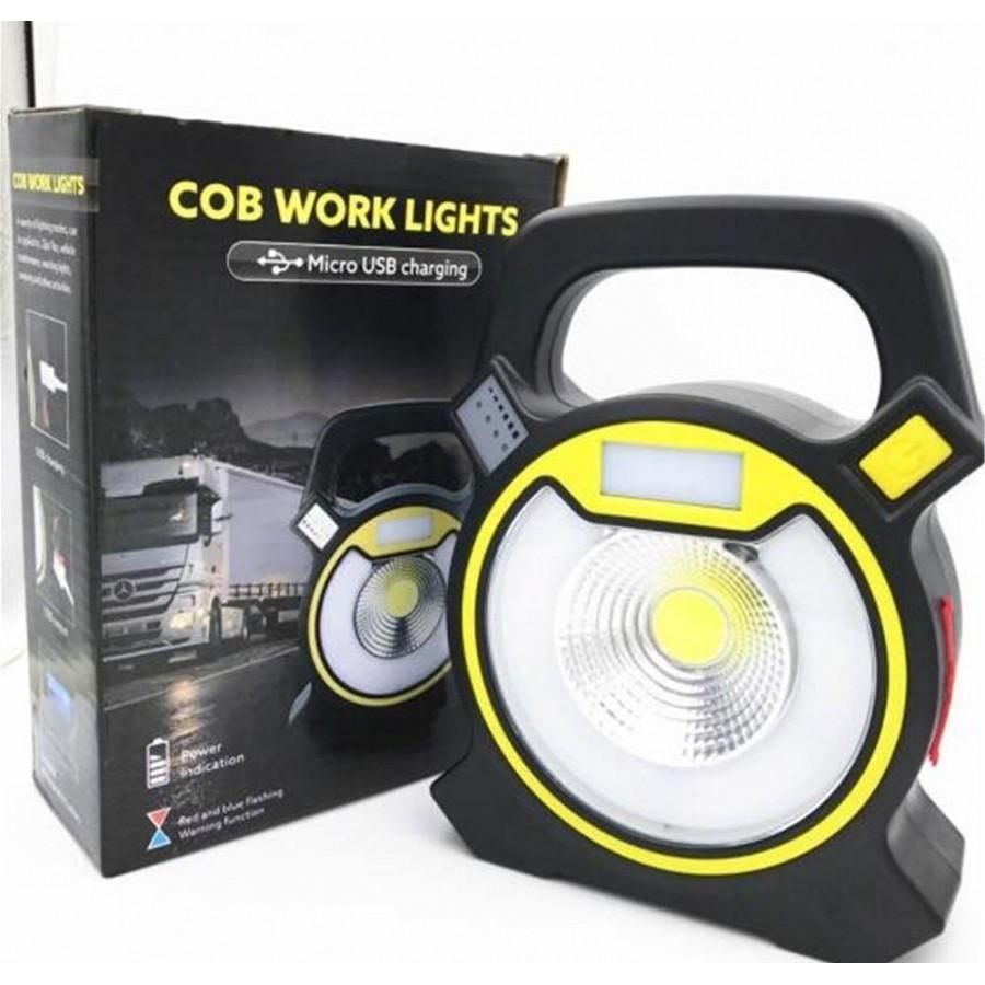 Lanterna de lucru reincarcabila cu LED imagine techstar.ro 2021