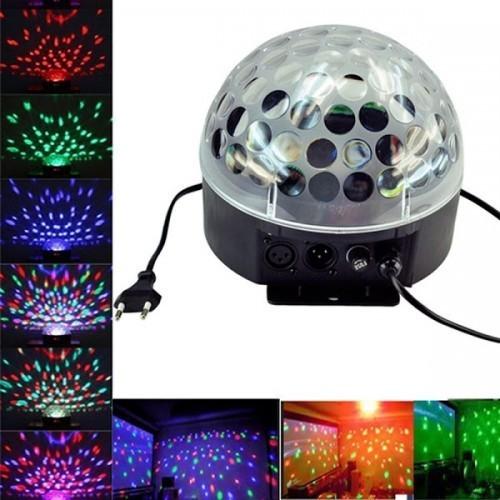 Glob Disco Led cu telecomanda si Redare Audio MP3 imagine techstar.ro 2021