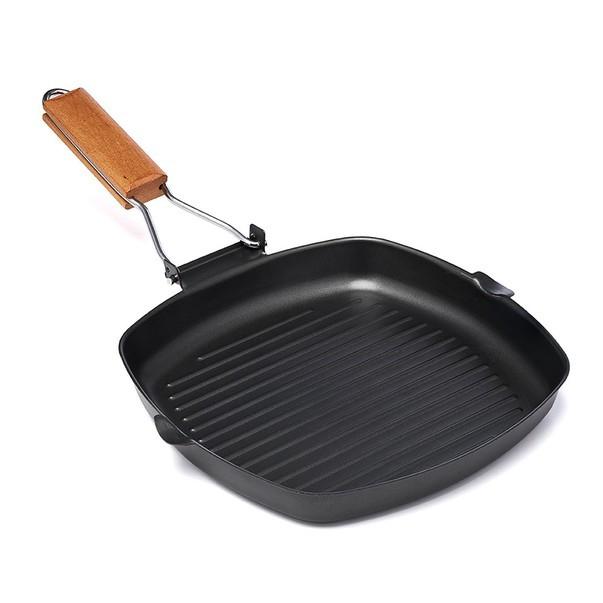 Tigaie grill Vanora Home, fonta, 23 x 2 cm imagine techstar.ro 2021