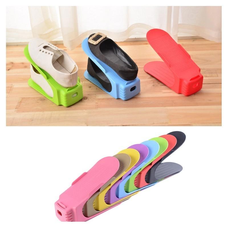 Set 6pcs, organizator / suport pantofi, ShoeSlotz SR9143