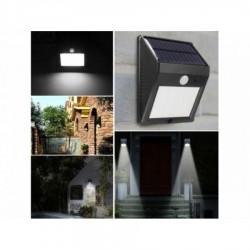 Lampa led solara cu senzor de miscare 1+1