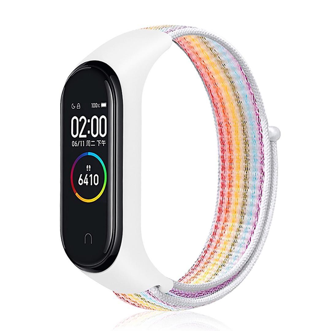 Bratara Sport M4 Techstar® Pentru Fitness, Monitorizarea Presiunii Sangelui si A Batailor Inimii, Rainbow poza 2021