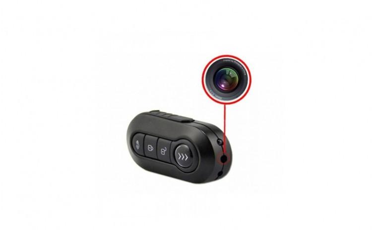 Camera Tip Breloc Auto Spion, PREMIUM cu Camera si Microfon Incorporat, Full HD, 1920x1080P