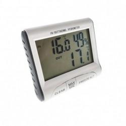 Termometru si higrometru digital de interior/exterior DC103 ST1150+cadou