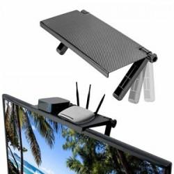 Raft reglabil pentru monitor sau televizor+cadou