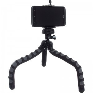 Tripod flexibil octopus , pentru telefon mobil , vlog, poze, filmari +cadou imagine techstar.ro 2021