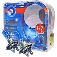 Set 2 becuri halogen auto Pegasus Xenon Look 5000k / 100w /12v H4 imagine techstar.ro 2021