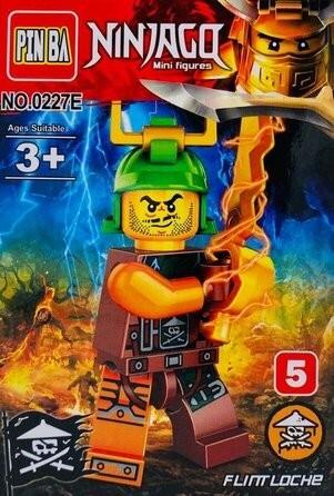 Mini Figurina de Tip Lego Ninjago FLINTLOCKE imagine techstar.ro 2021