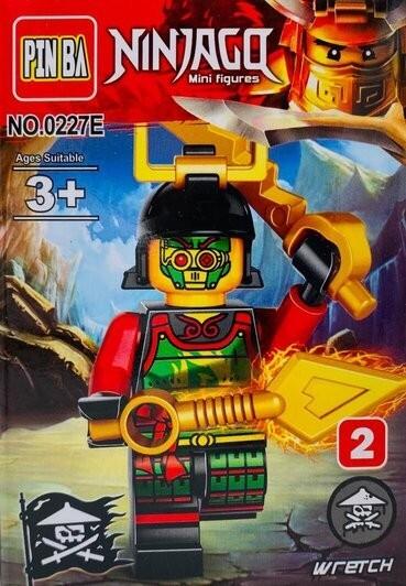 Mini Figurina de Tip Lego Ninjago WRETCH imagine techstar.ro 2021