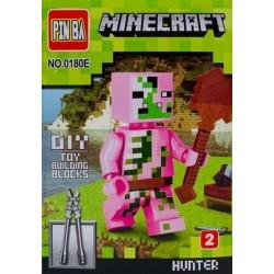 Mini Figurina, de Tip Lego, Minecraft, HUNTER