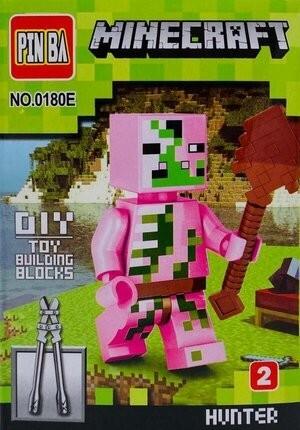 Mini Figurina de Tip Lego Minecraft HUNTER imagine techstar.ro 2021