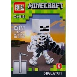Mini Figurina, de Tip Lego, Minecraft, SKELETON