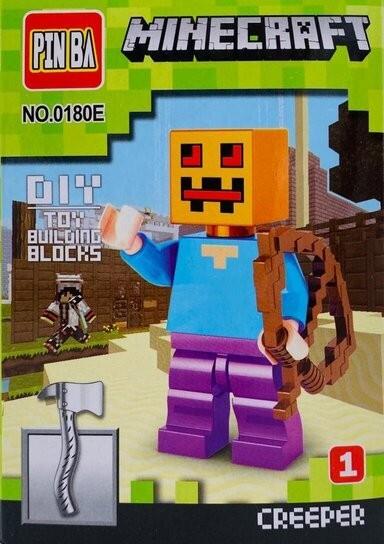 Mini Figurina de Tip Lego Minecraft CREEPER imagine techstar.ro 2021