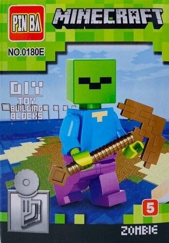 Mini Figurina de Tip Lego Minecraft ZOMBIE imagine techstar.ro 2021