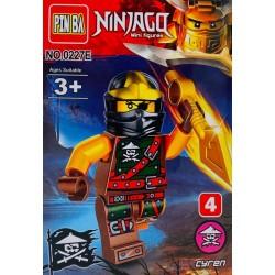 Mini Figurina, de Tip Lego, Ninjago, CYREN