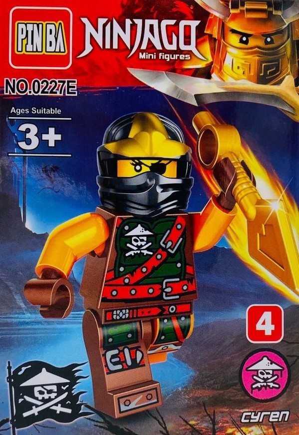Mini Figurina de Tip Lego Ninjago CYREN imagine techstar.ro 2021