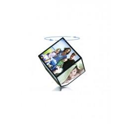 Cub Foto Rotativ, Rama Foto 10 X 10 cm,Ideal Poze Familie