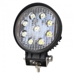 Proiector LED, Off Road, Rotund, 27W, 11cm
