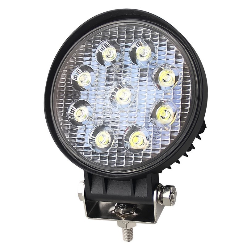 Proiector LED, Off Road, Rotund, 27W, 11cm imagine techstar.ro 2021