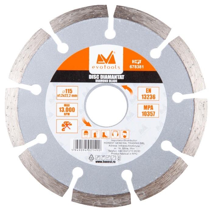 Disc Diamantat Uscat 5262 ETS Diametru 125mm imagine techstar.ro 2021