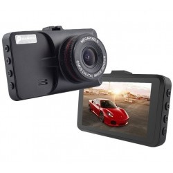 CAMERA VIDEO AUTO T619 FULLHD 3 MEGA PIXELI CARCASA METALICA, DESIGN SLIM
