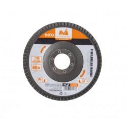 Disc Lamelar Frontal Inox Diametru 125mm, Granulatie 40