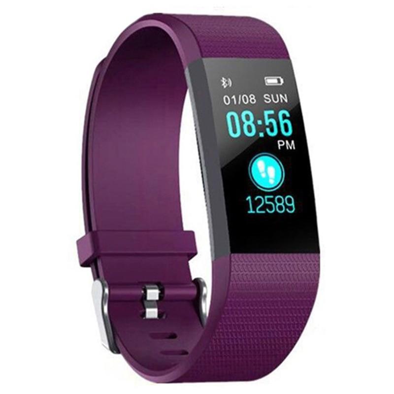 "Bratara Smart Fitness Techstar® ID115 Plus Fitness, 0,95"""" OLED, BT4.0, Waterproof IP65, Mov imagine techstar.ro 2021"