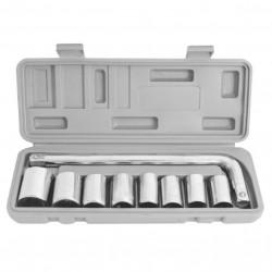 Set 9 chei tubulare cu maner EVOTOOLS, 10-24 mm