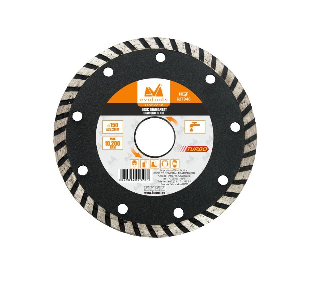 Disc Diamantat Turbo Diametru 115mm Evotools imagine techstar.ro 2021