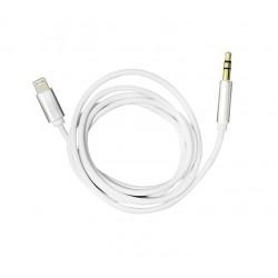 Cablu Universal Audio AUX Lightning la Jack 3.5 mm, Conectare iPhone Auxiliar, 1 Metru