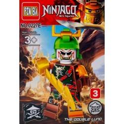 Mini Figurina, de Tip Lego, Ninjago, The Double LUNO