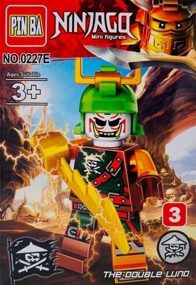 Mini Figurina de Tip Lego Ninjago The Double LUNO imagine techstar.ro 2021