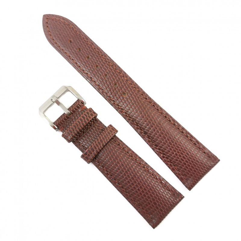 Curea de ceas maro din piele naturala 12mm 14mm 16mm 18mm 20mm 22mm 24mm WZ4152