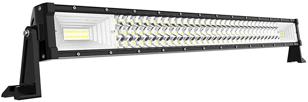 Led bar 32 inch , model drept , 405W 12v-24v calitate superioara produs pentru U.S.A+cadou imagine techstar.ro 2021